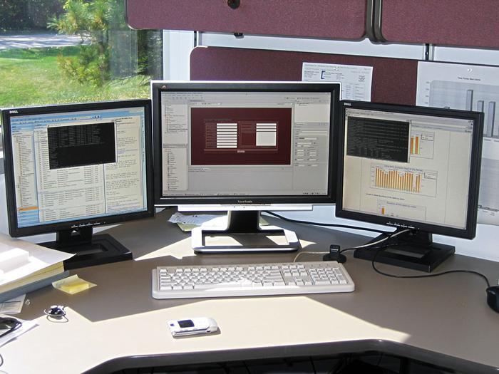 Tri-Monitors