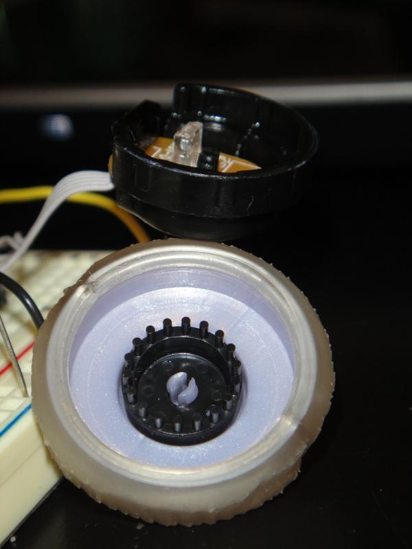 Rotary Encoder from a Mouse